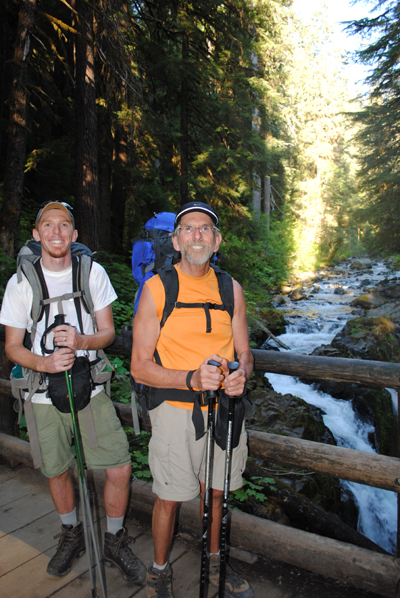 2011: Josh & Roger on 3 day High Divide hike