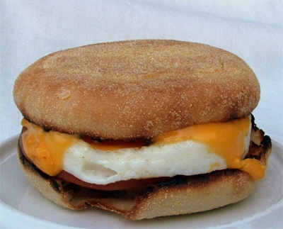 What's in that fast food egg white sandwich 2