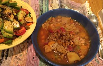 Irish White Bean and Cabbage Stew