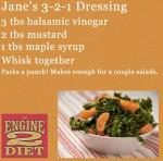 Jane's 3 2 1 Salad Dressing