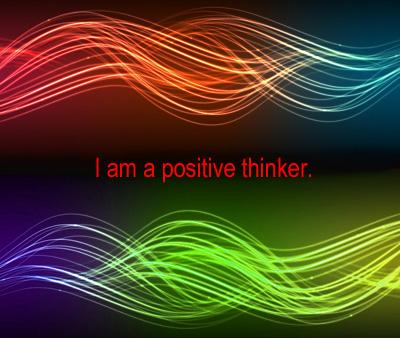Heal thyself Think positive