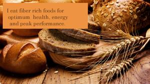 Fiber in your diet