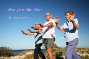 Exercise is your job
