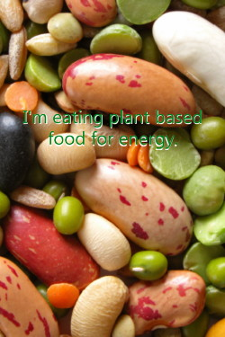 Eating for energy—eat carbohydrates
