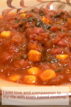 Quinoa, Black Bean and Corn Chili